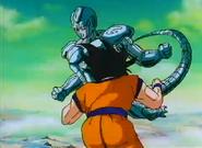 Goku Fighting Against MetaCooler