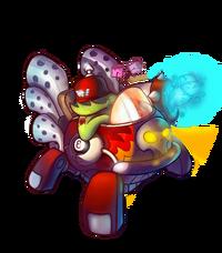 CharacterRender Heavy Skin Hotrod redBG