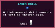 Laser Drill Pickup