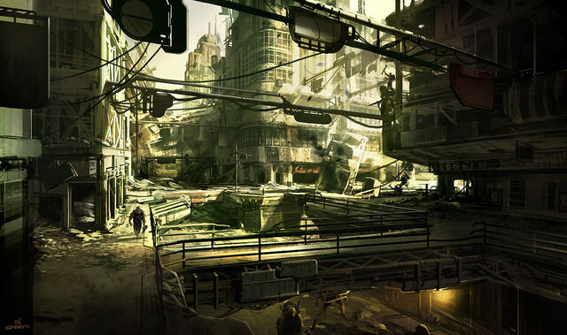 File:1200x711 203 Dead city IDsoftware 2006 2d sci fi city ruins post apocalyptic picture image digital art.jpg