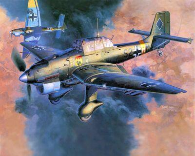 Ju-87 Stuka Dive Bomber-d5hkr6x