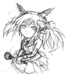 Dragon Princess Sketch
