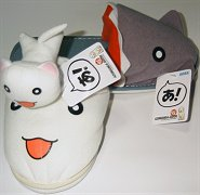 Neco Coneco and Kamineko slippers