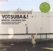 Yotsuba calendar monthly 2011