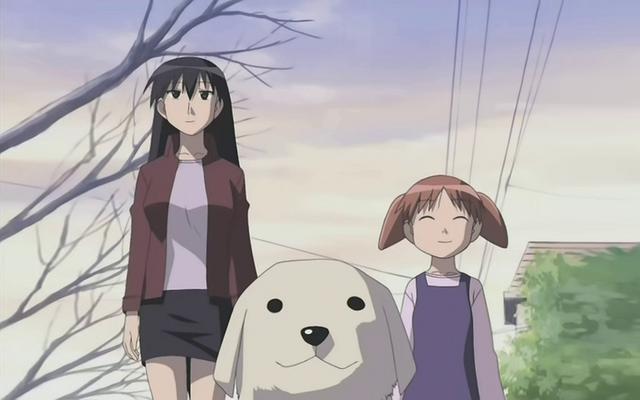 File:Azumanga daioh dogs anime sakaki tadakichi mihama chiyo 1680x1050 wallpaper Wallpaper 1680x1050.png