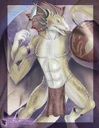 Ciraxis Character Concept by ulario