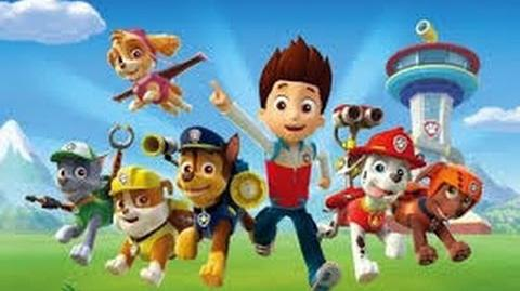 Paw Patrol - Chase Is Blown Away