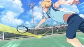 Eiichiro's serve anime