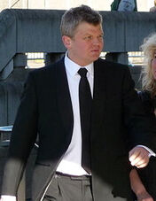 Adrian Chiles at the BAFTA's Cropped