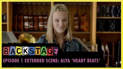 "Backstage Episode 1 Extended Scene - Alya ""Heart Beats"""