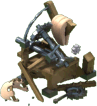 Catapult 3 Damaged