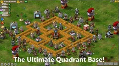Backyard Monsters - How To Build The Ultimate Quadrant Base