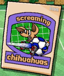 Screaming Chihuahuas logo bys