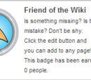 Friend of the Wiki