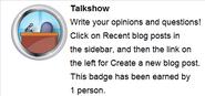 Talkshow (req hover)