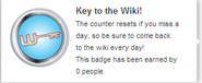 Key to the Wiki! (req hover)