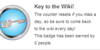 Key to the Wiki!