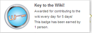 Key to the Wiki! (earned hover)