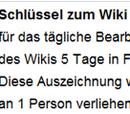 Schlüssel zum Wiki