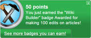 Wiki Builder (earned)