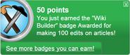 Wiki Builder (earned)