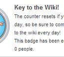 Nøkkelen til wikien!