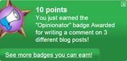 Opinionator (earned)