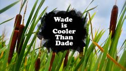 Wade is Cooler Than Dade