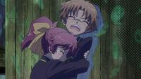 Minami scared