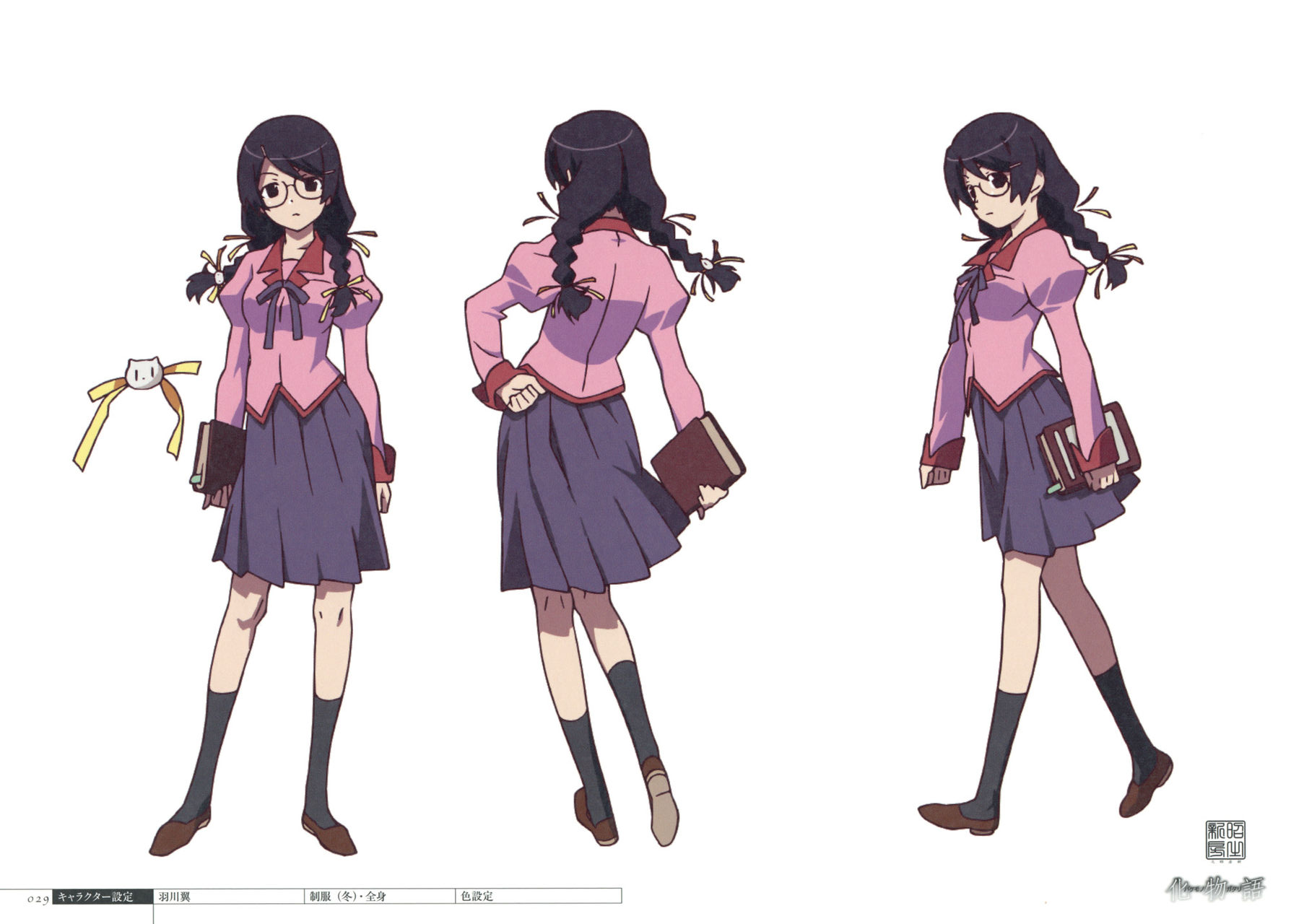 Tsubasa Hanekawa | Bakemonogatari Wiki | FANDOM powered by Wikia