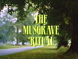 SHG title card The Musgrave Ritual
