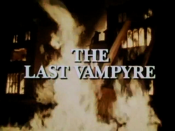 SHG title card The Last Vampyre