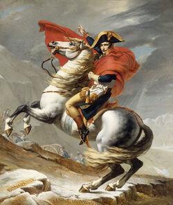 Napoleon Crossing the Alps David