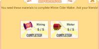Winter Cider Maker