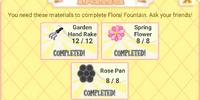 Floral Fountain
