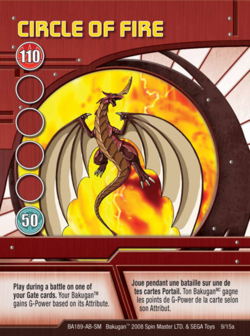 Circle of Fire Red Card