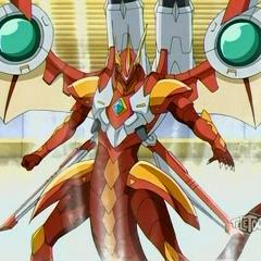 Helix Dragonoid i Jetkor na aktywowanej karcie otwarcia