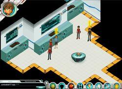 Bakugan Interspace Control Room