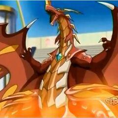 Neo Dragonoid na karcie otwarcia Pyrus Reaktor