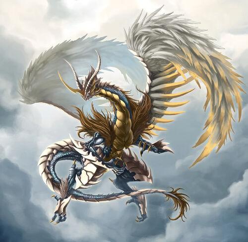 Light dragon by pamansazz
