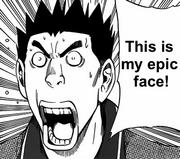 Hattori epic face