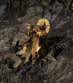 Amaunator-statue