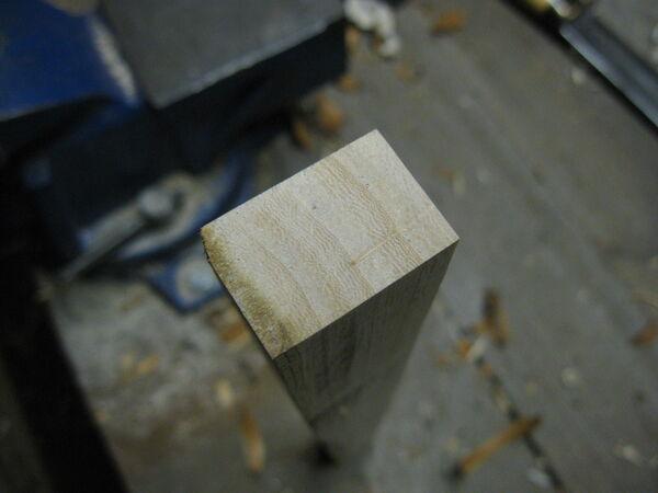 Making tillered cones - 03