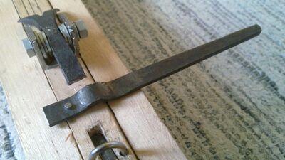 Forging cheiroballistra trigger - 03
