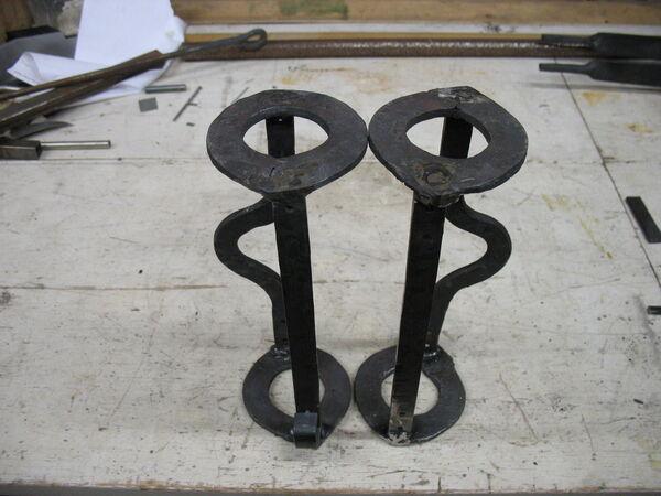 Welding field-frames together - 06