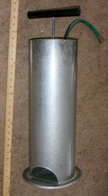 Metal Floor Pump 3