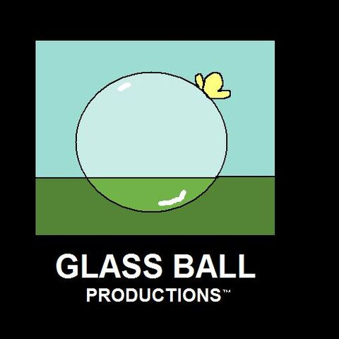 The Glass Ball Productions logo used during 1988-2014, still used in some films