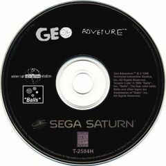 Sega Saturn disc