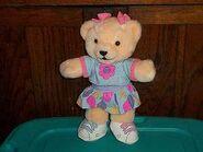 109361784 1995-tomy-bananas-in-pajamas-girl-teddy-bear-plush-doll-