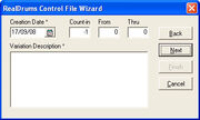 RDU New File Wizard P2